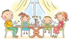 menjar en familia